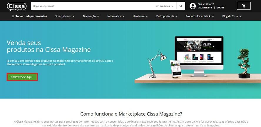 Cissa Magazine Marketplace