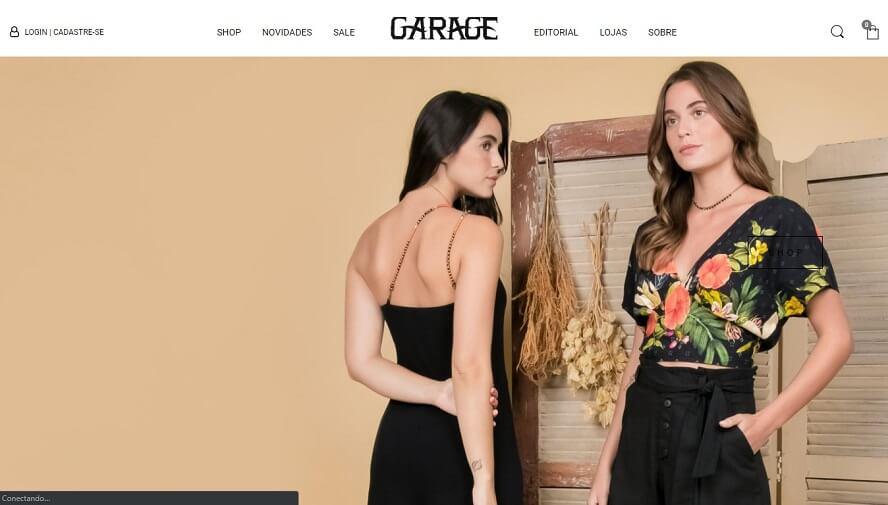 Código promocional Garage