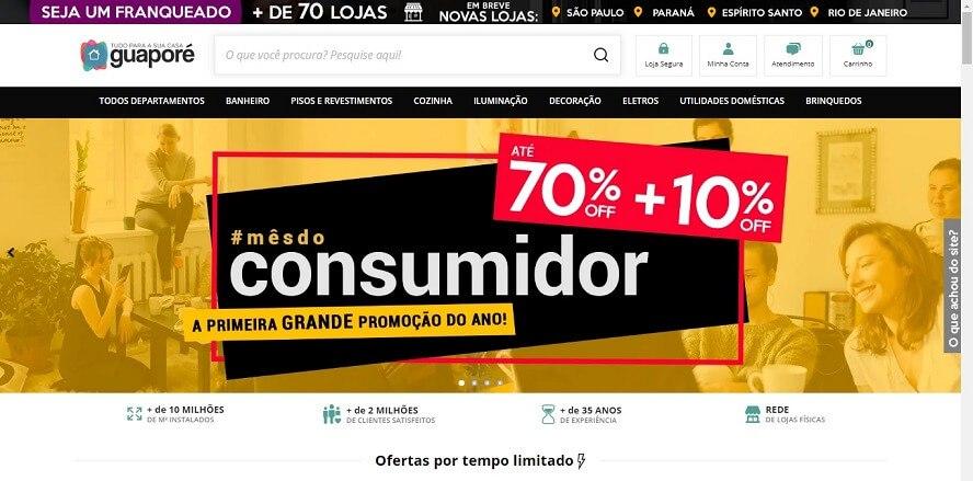 Oferta Lojas Guaporé