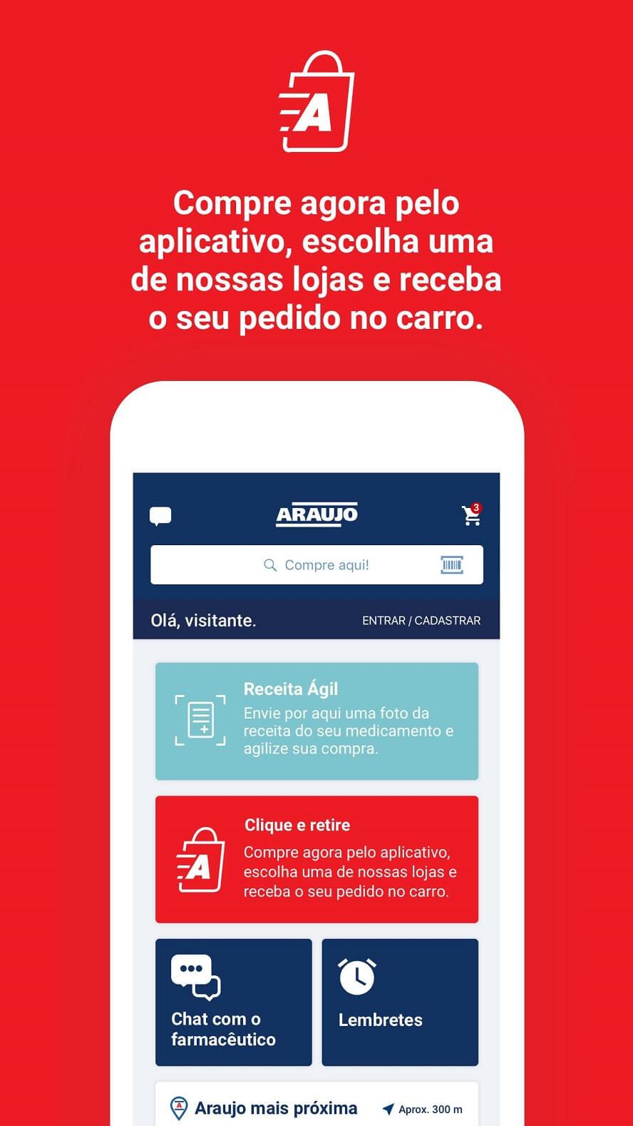 Código Promocional Drogaria Araújo
