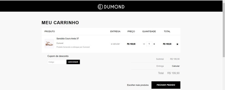 Código Promocional Dumond