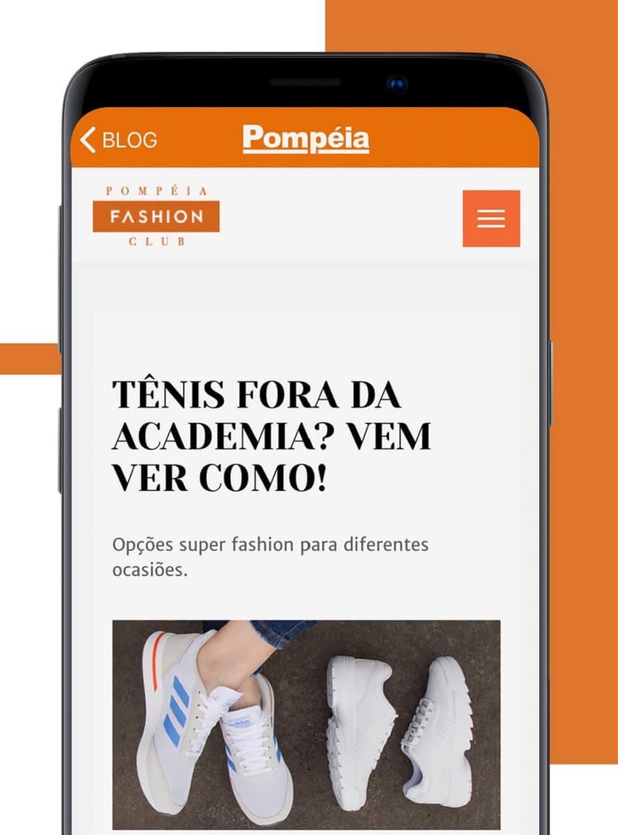 Cupom de desconto Lojas Pompéia