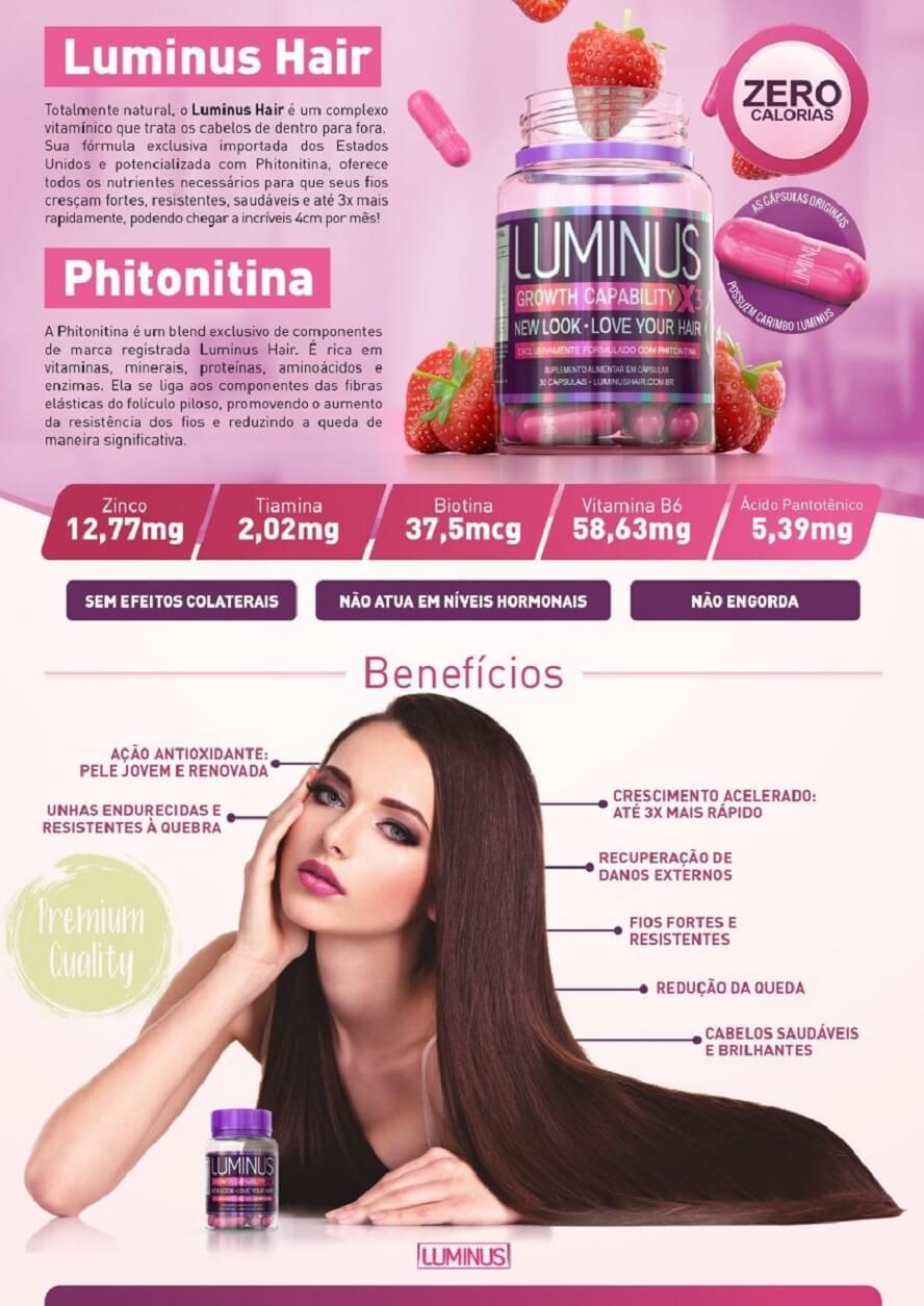Cupom de desconto Luminus Hair