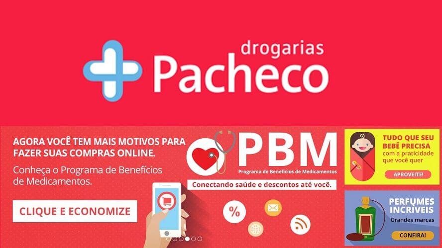 Cupom Drogarias Pacheco
