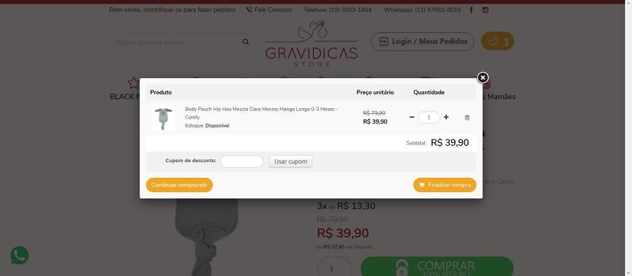 Promocode Gravidicas Store