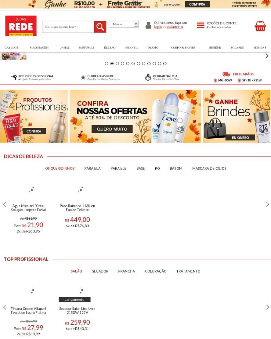 Promocode Lojas Rede