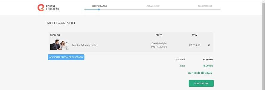 Promocode Portal Educação