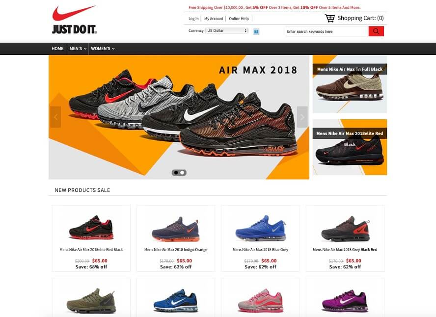 Voucher Nike