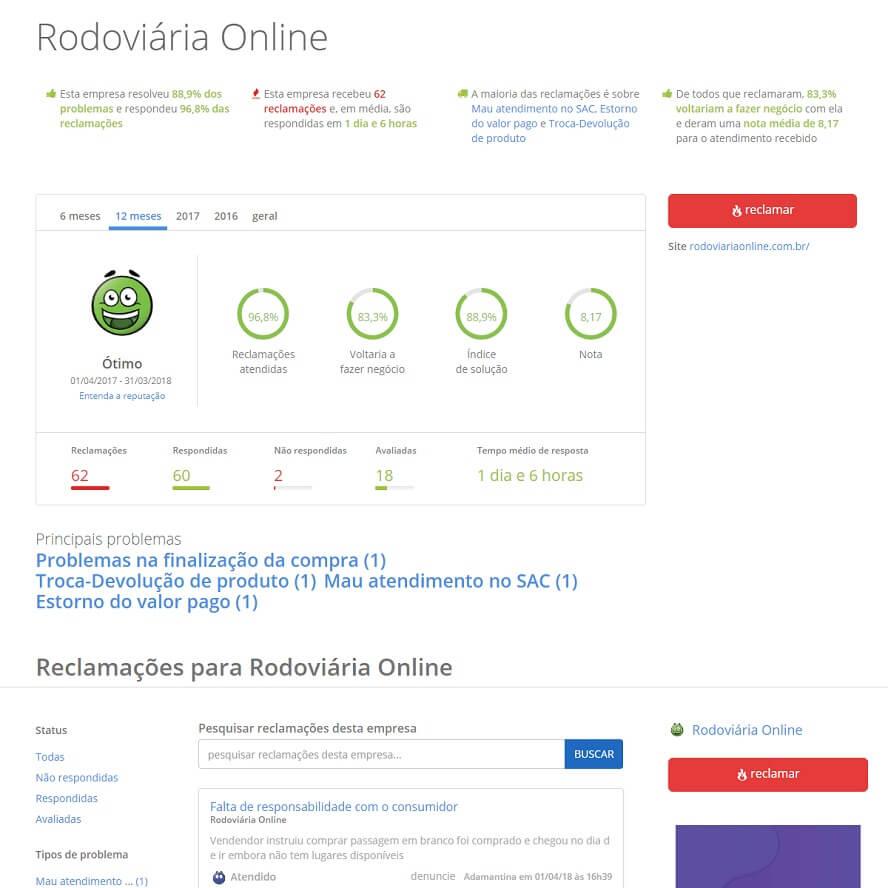 Voucher Rodoviária Online