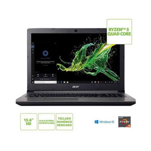 Notebook Acer AMD Ryzen 5-2500U (A315-41-R4RB)