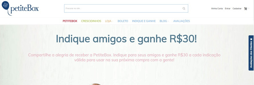 Código Promocional Petitebox