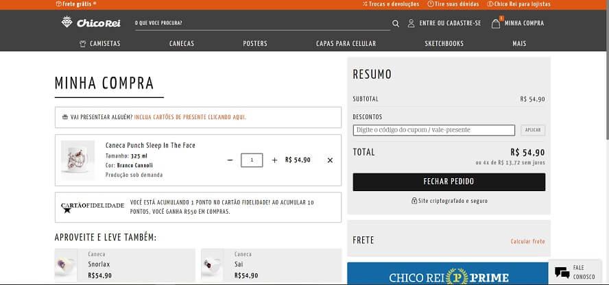 Promocode Chico Rei