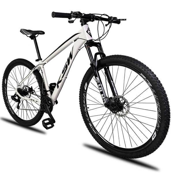 Bicicleta Aro 29 KSW Alumínio Câmbio Shimano 21 Marchas