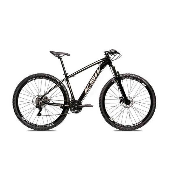 Bicicleta Aro 29 KSW Alumínio 24 Marchas Freio a Disco
