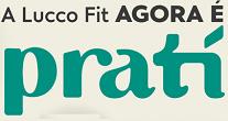 Logomarca Pratí letras minúsculas na cor verde